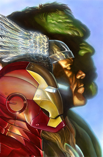 Alex Ross First Avengers