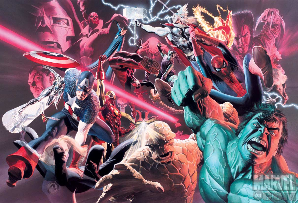 Stunning Alex Ross Art on