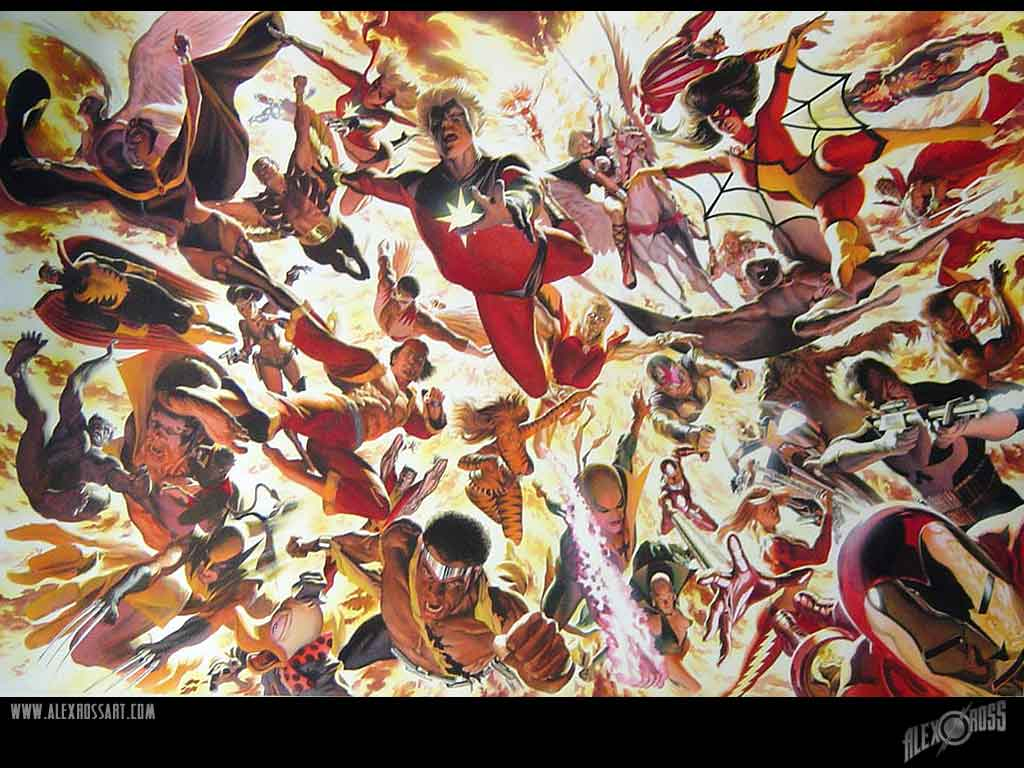 Alex Ross Marvel 1970s