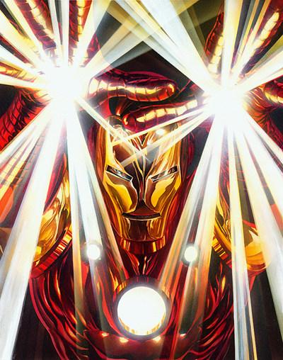Alex Ross Visions Iron Man