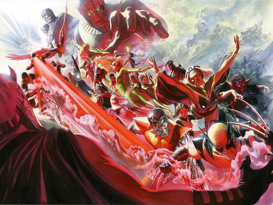 Alex Ross Uncanny X-Men #500