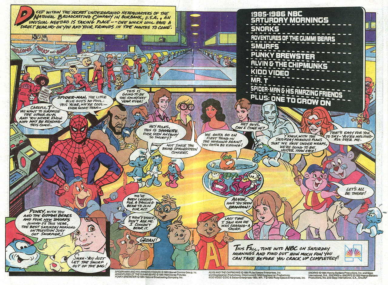 let s adapt the rest of nbc s 1985 saturday morning cartoon lineup