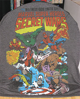 Secret Wars T-shirt