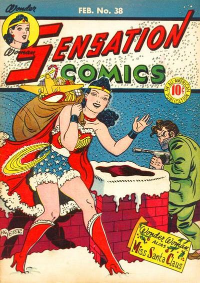 Sensation Comics #38 starring Wonder Woman