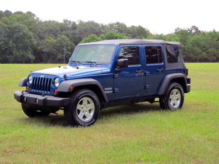 Shag's New Jeep Wrangler Unlimited Sport