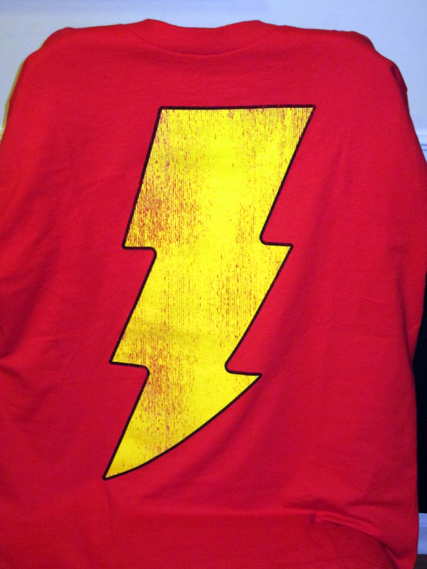 Captain Marvel (Shazam) T-shirt