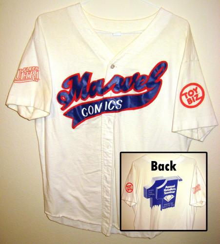 Diamond Comics Marvel Baseball Jersey