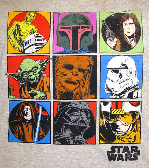 Star Wars t-shirt featuring Al Williamson artwork from Marvel Comics