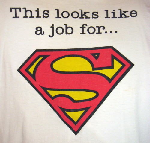 This Looks Like a Job for Superman