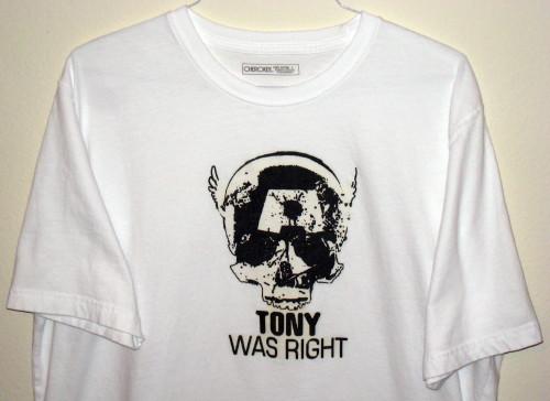 Tony Was Right