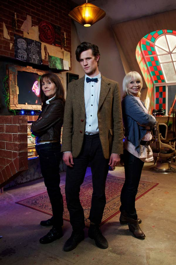 Sarah Jane Adventures guest starring Matt Smith as the Doctor and Katy Manning as Jo Grant