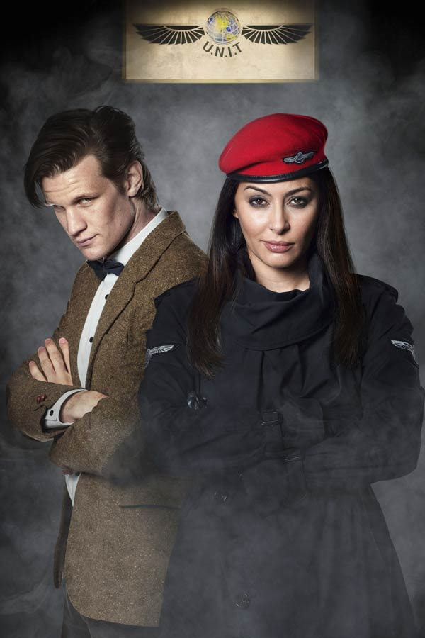 Sarah Jane Adventures guest starring Matt Smith as the Doctor and UNIT