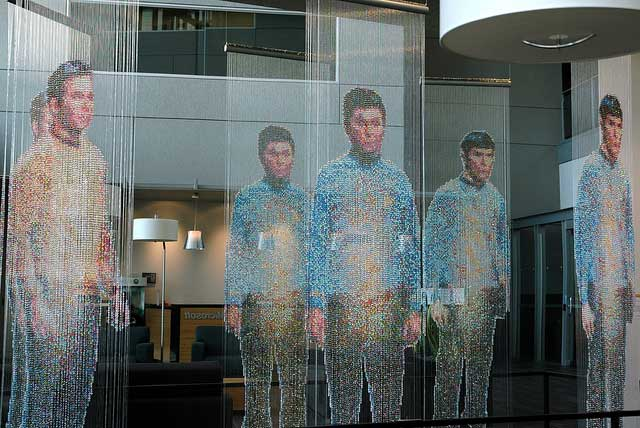 Star Trek beaded curtain