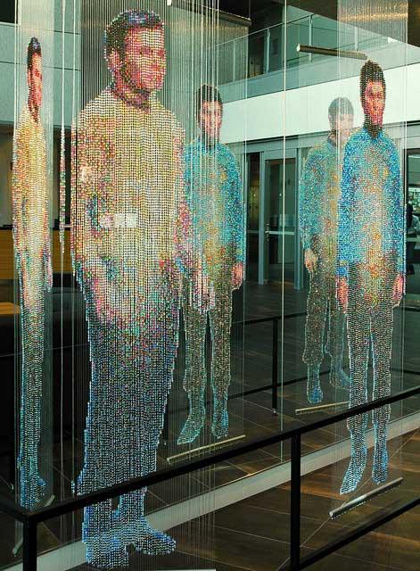 Star Trek beaded curtains