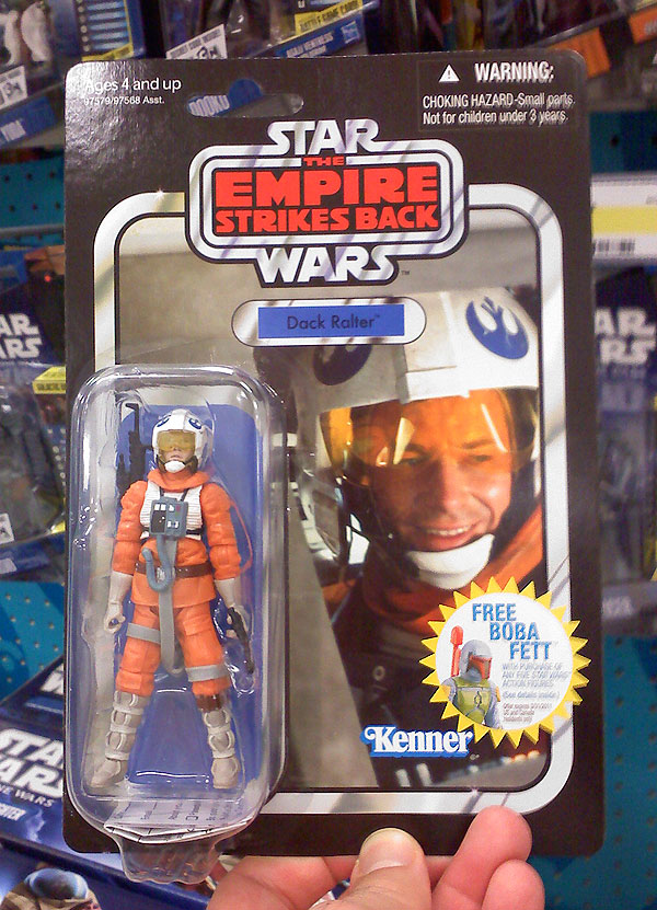 Dack action figure from Star Wars Empire Strikes Back
