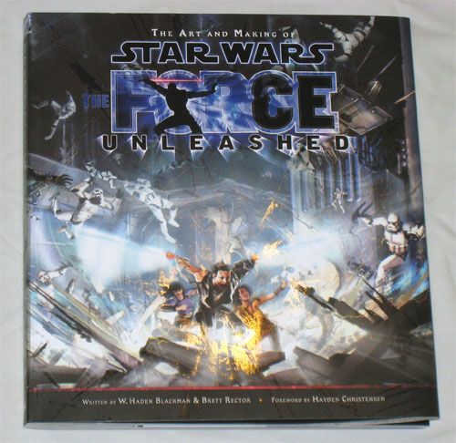 The Art and Making of Star Wars Force Unleashed