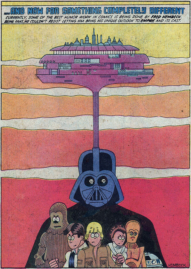 Star Wars: The Empire Strikes Back by Fred Hembeck