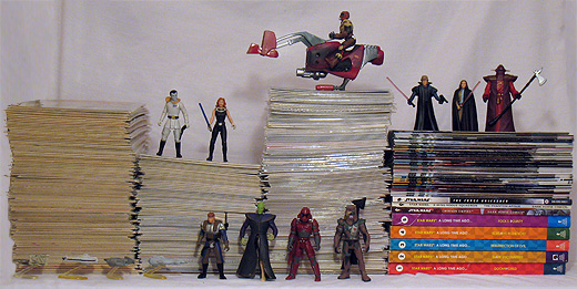 Star Wars comic books - Marvel and Dark Horse