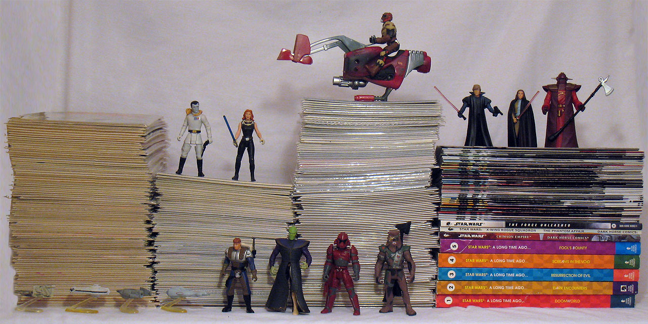 Star Wars comic books - Shag's comic collection