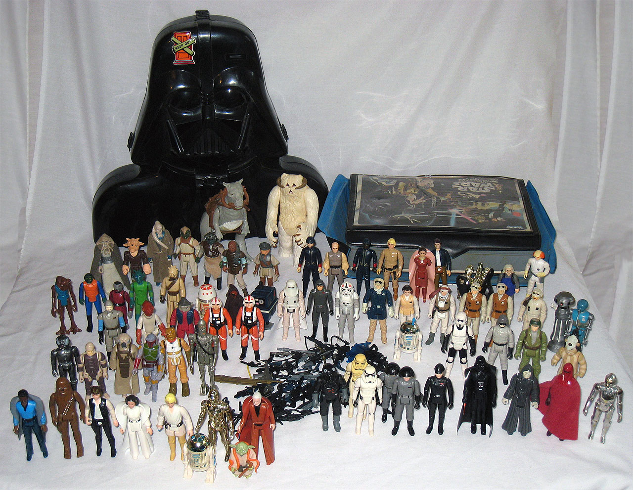 Star Wars action figures from Kenner - Shag's classic collection