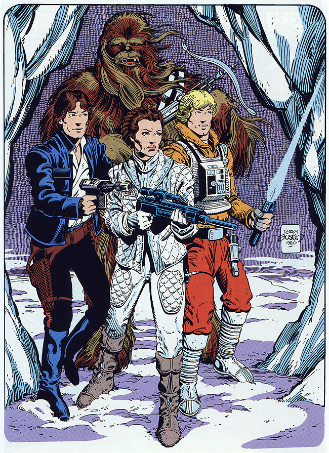 Star Wars: Empire Strikes Back by Terry Austin