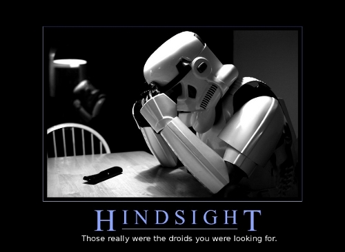Star Wars Motivational Poster - Those Were the Droids