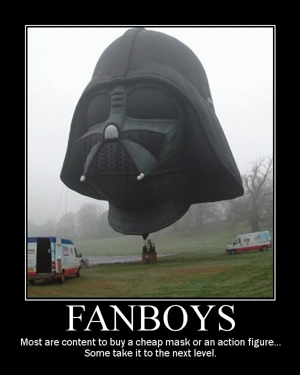Star Wars Motivational Poster Fanboys