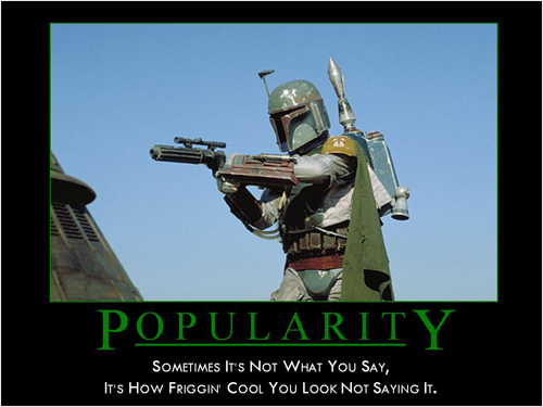 Star Wars Motivational Poster - Boba Fett