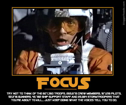 Wars Motivational Poster Focus