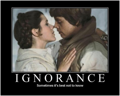 Star Wars Motivational Poster - Ignorance