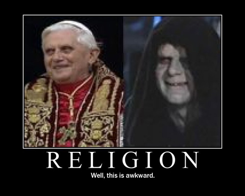 Star Wars Motivational Poster - Religion