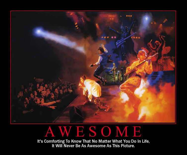 Star Wars Motivational Poster - Rock and Roll
