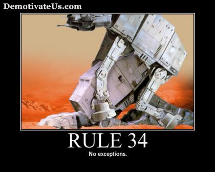 Star Wars Motivational Poster - Rule 34