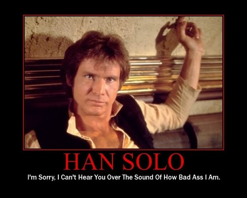 Star Wars Motivational Poster - Han Solo