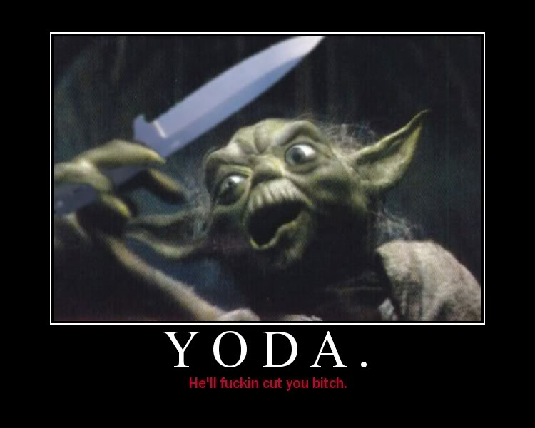 Star Wars Motivational Poster Yoda