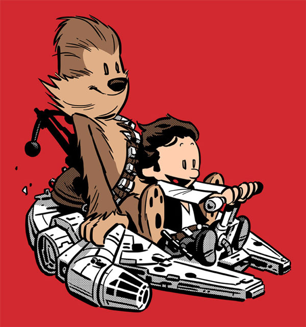 Star Wars - Calvin and Hobbes: Best Buddies