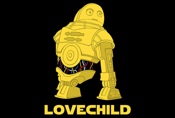 Star Wars: Love Child on TeeFury