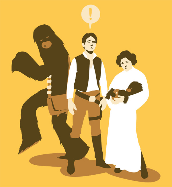 Star Wars: My Son on TeeFury
