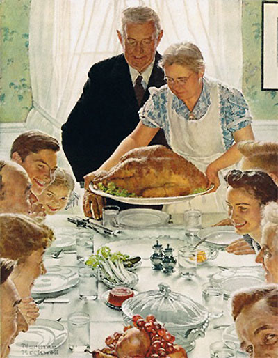 Normal Rockwell's Thanksgiving