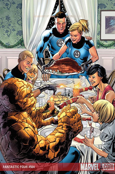 Fantastic Four's Christmas?!?!