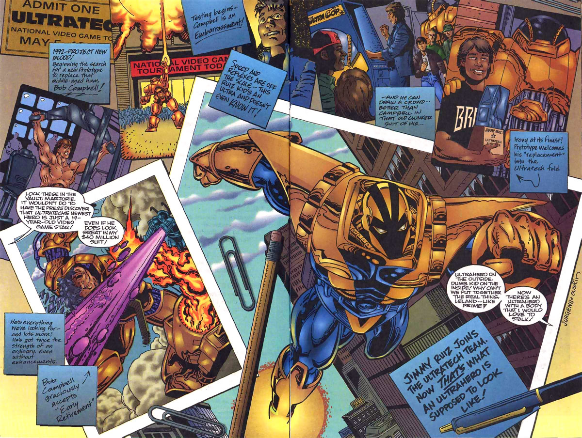 Prototype origin from the Malibu Ultraverse