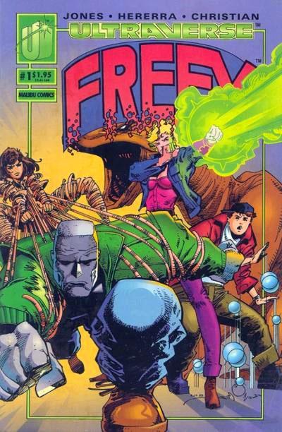 Freex from the Malibu Ultraverse