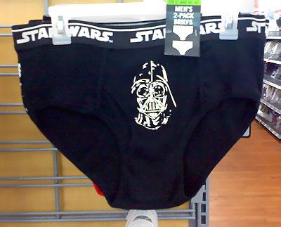 Darth Vader underwear