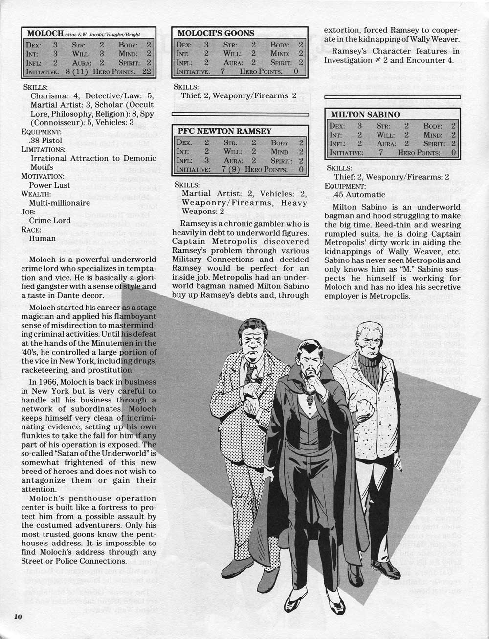 watchmen fair rpg stats 1987 once upon a geek while compiling information