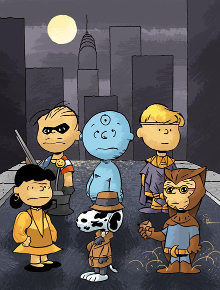 Watchmen Peanuts by Evan Shaner