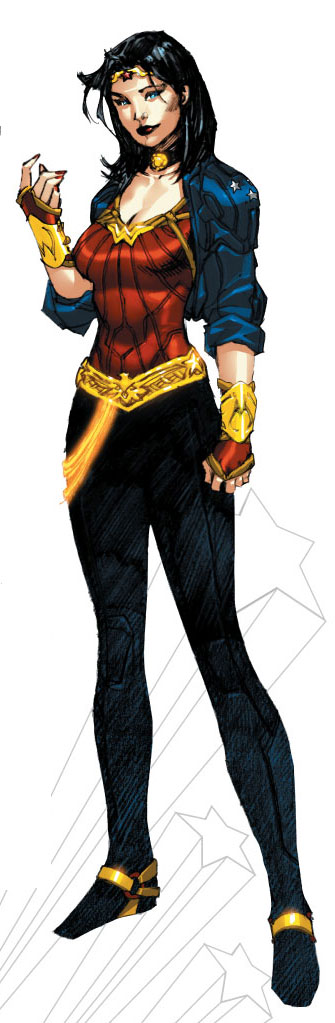 Wonder Woman's New Duds