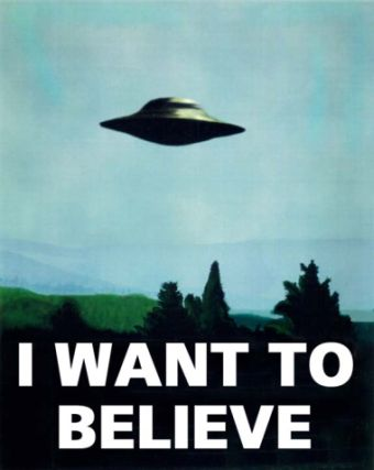 Are Aliens Real? I want to believe