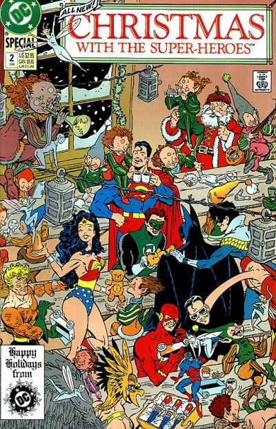 DC Christmas with the Superheroes 2