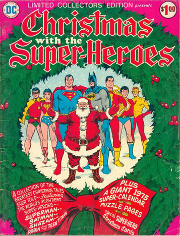 DC Christmas with the Superheroes
