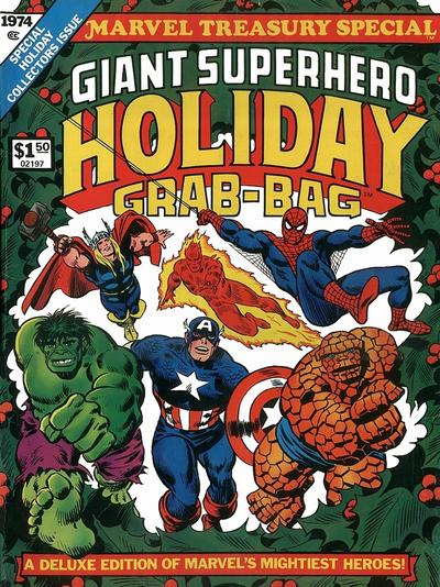 Marvel Giant Superhero Holiday Grab-Bag 1974